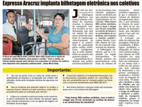 Expresso Aracruz implanta bilhetagem eletrônica nos coletivos - Folha do Litoral